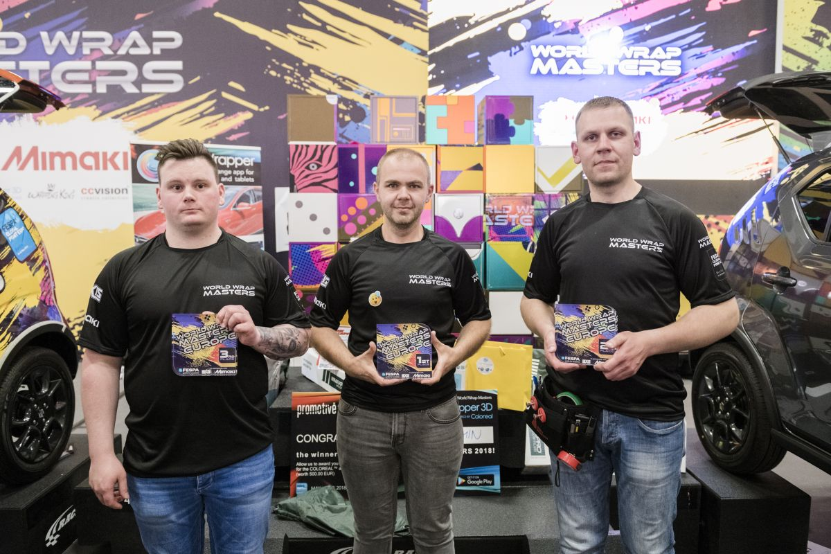 Wrap Masters Europe winners