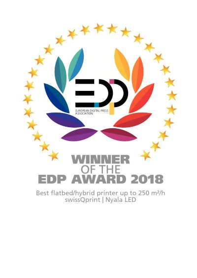 EDP AWard for swissqprint